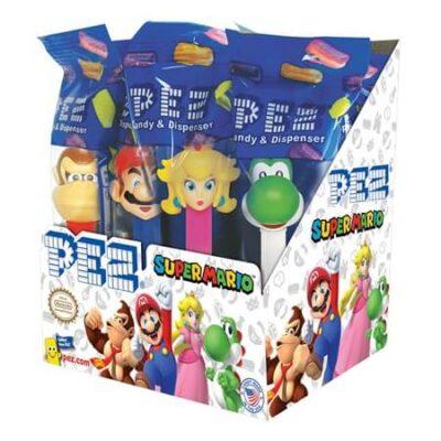 Super Mario Nintendo Pez Dispenser