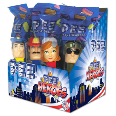 Pez Heroes Dispenser