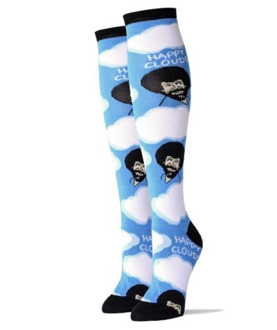 Happy Clouds Women's Knee High Socks