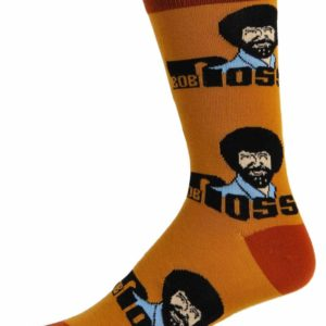 Roll Em Bob Ross Socks