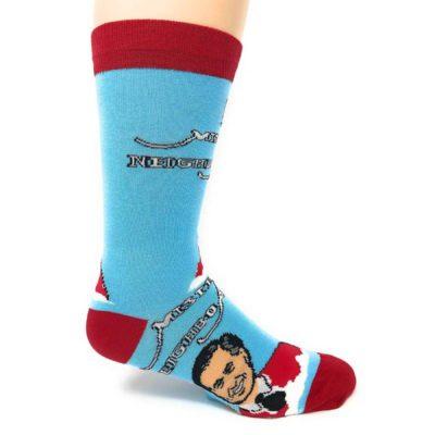 mr rogers neighborhood socks outside view