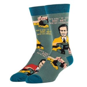 won't you be my neighbor mister rogers socks