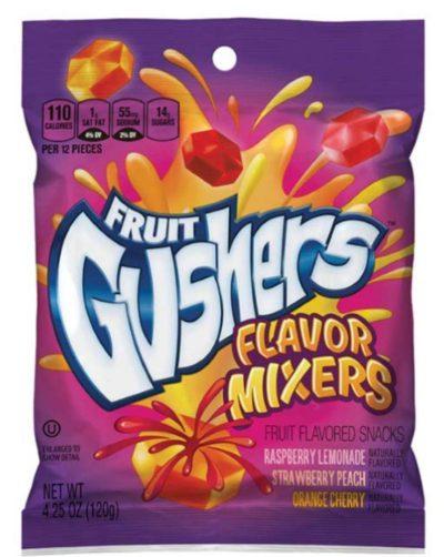 Fruit Gushers Flavor Mixers