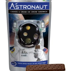Astronaut Ice Cream - Cookies & Cream