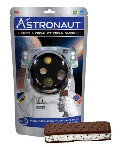 Astronaut Ice Cream - Cookies & Cream