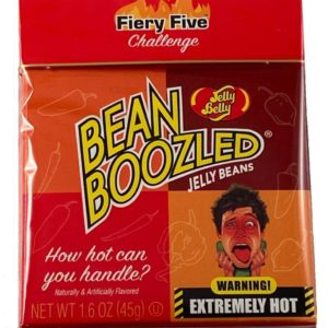 Bean Boozled Fiery Five Challenge