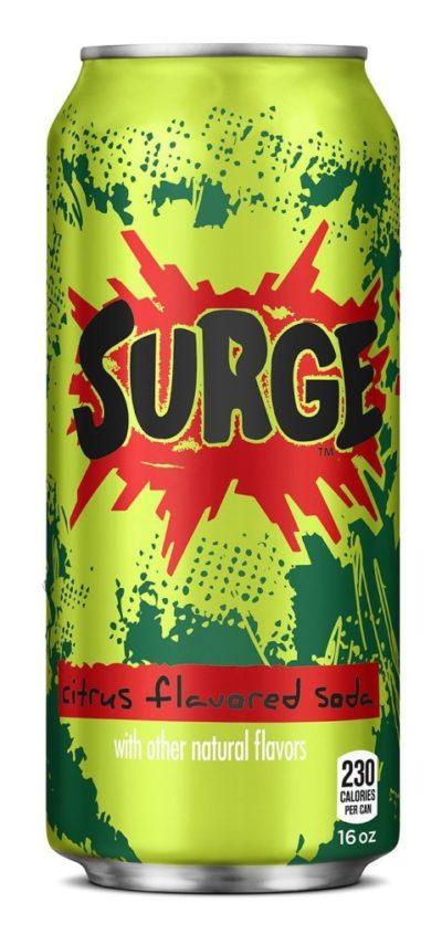 Surge Single 16oz Can