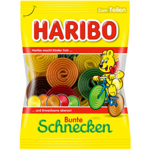 German Haribo Bunte Schnecken