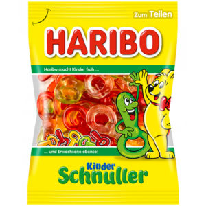German Haribo Kinder Schnuller Gummy Pacifiers