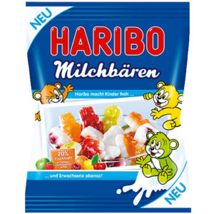 German Haribo Milchbaren Milk Bears
