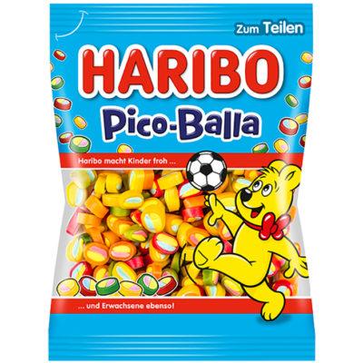 German Haribo Pico Balla Gummy Fruit Soccer Balls