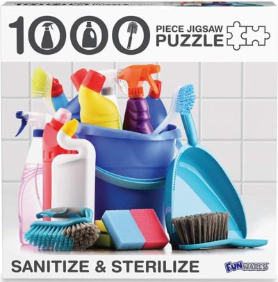 Covid 1000-Piece Jigsaw Puzzle