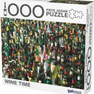Funwares Wine Time 1000-Piece Jigsaw Puzzle