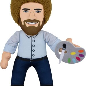 bob ross plush figure