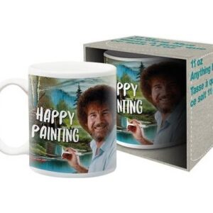 happy painting mug
