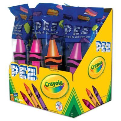 Crayola Pez Dispenser