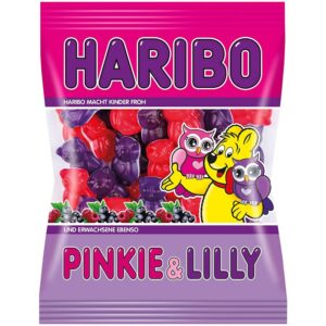 German Haribo Pinkie and Lilly