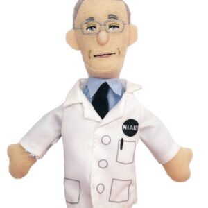 Dr. Fauci Magnetic Personality Finger Puppet