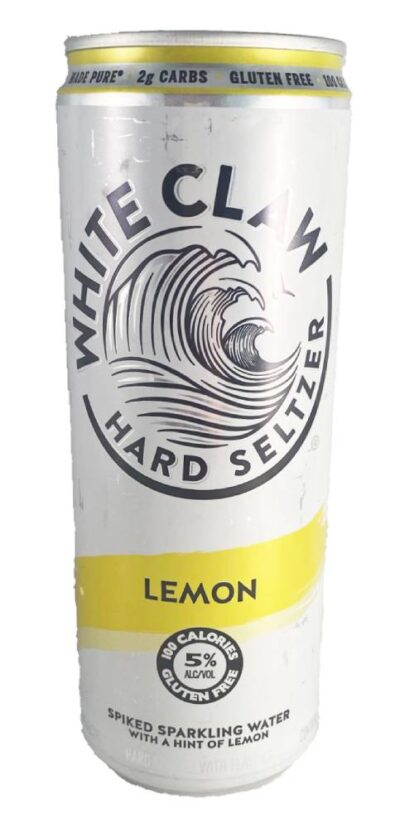 Lemon White Claw Candle