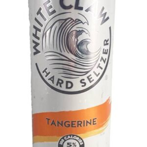 Tangerine White Claw Candle